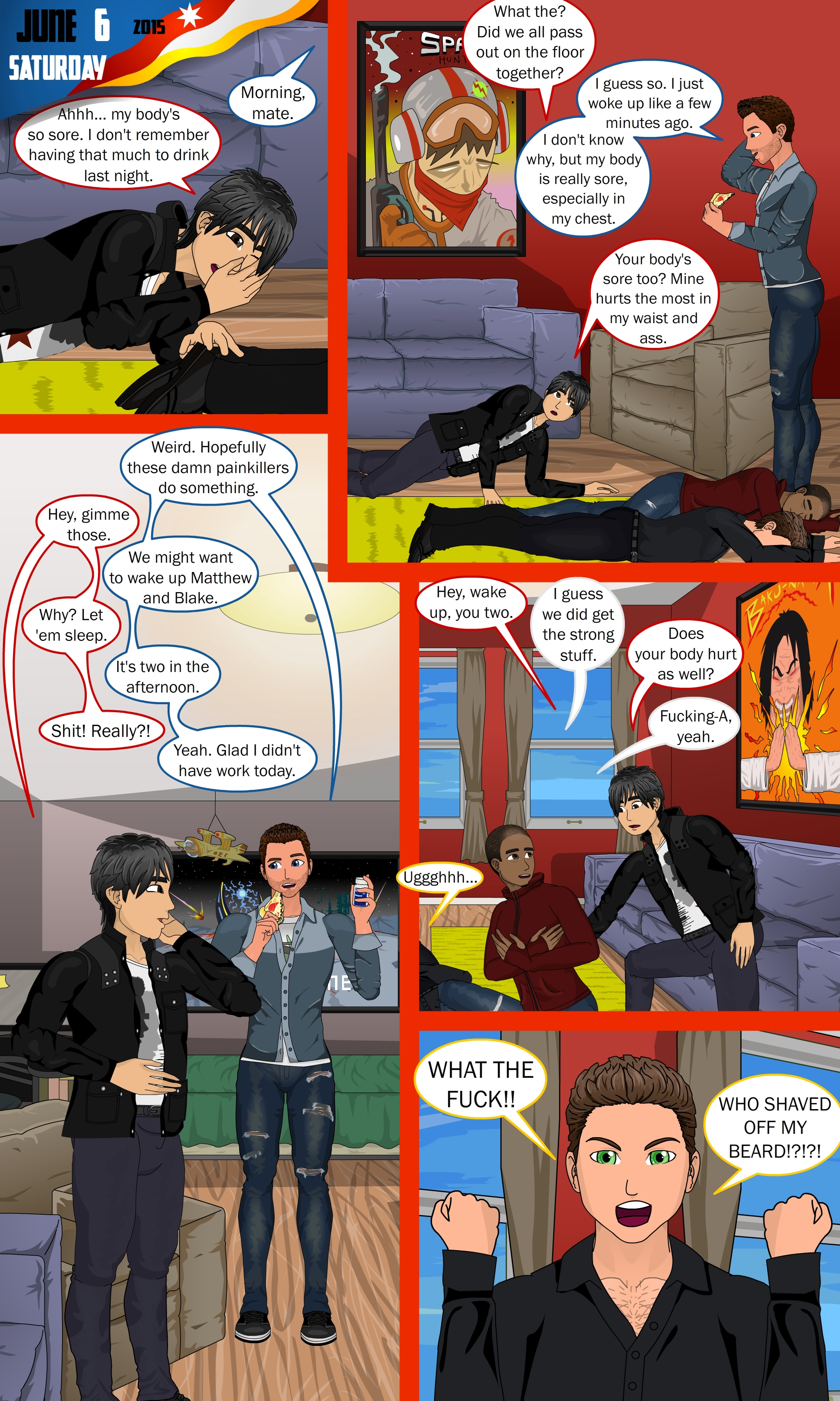 Fractured Page 10 on