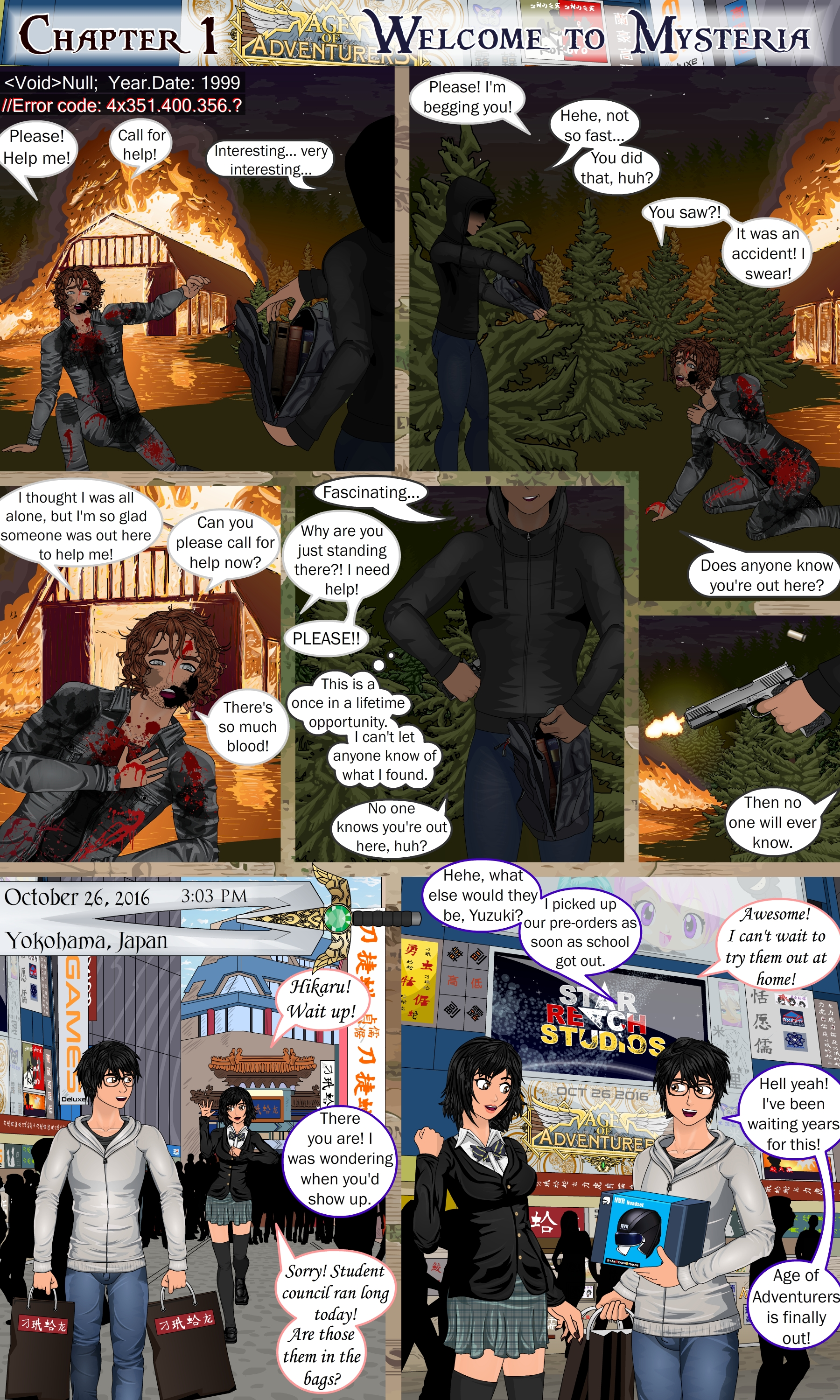 Maker's Game Page 1